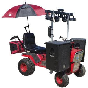 véhicule électrique sono mobile car JMI-Conception